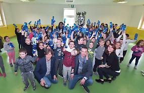 Ecologia, E' Più Pomì e Padania Acque in due scuole