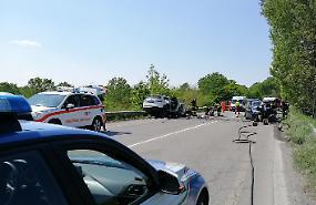 FOTO Le immagini del terribile incidente lungo la Paullese