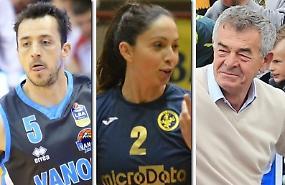 In redazione Sanguinetti, Antonucci e Fogliazza. Guarda i video Basket, Volley E Altro e Calcio