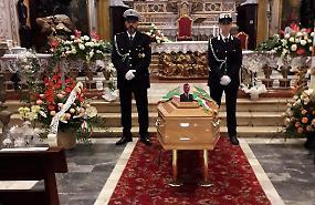 Folla ai funerali di Giovanni Cavatorta