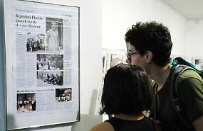 Argentini conquistati dalle fotografie di Amilcare Azzoni