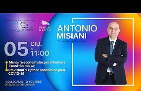 VIDEO Incontro on line con il vice ministro all'Economia