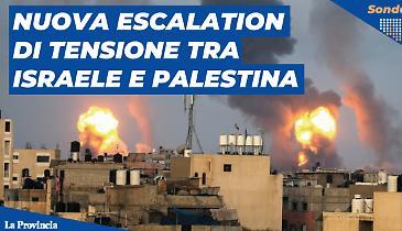 Nuova escalation di tensione fra Israele e Palestina: sei preoccupato?