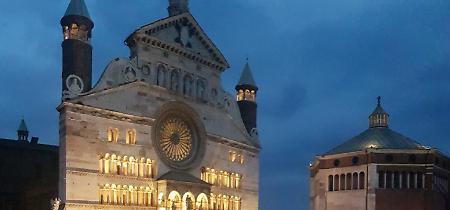 FOTO I Simple Minds in piazza del Comune a Cremona