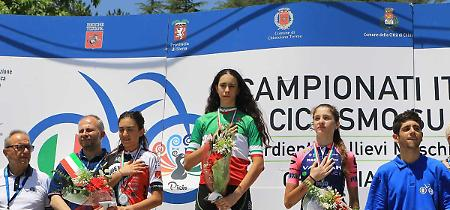 FOTO Ciclismo su strada, Federica Venturelli campionessa italiana Esordienti