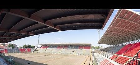 Lo Stadio Zini come un salotto, lavori a pieno ritmo