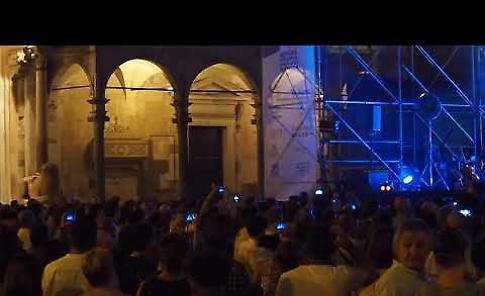 VIDEO1 Il concerto dei Negrita in piazza del Comune di Cremona
