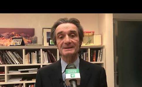 VIDEO Pullman sequestrato: le dichiarazioni del presidente Fontana