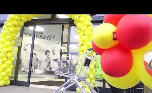 L'inaugurazione del supermercato Lidl in via Macello a Cremona