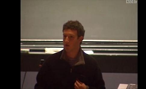 Usa, prima lezione di Zuckerberg ad Harvard nel 2005: l'aula è vuota