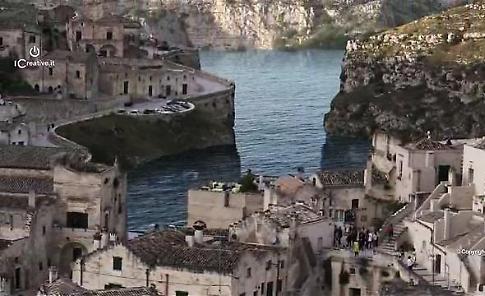 """""""Se Matera avesse il mare"""": il video fra i Sassi è un capolavoro di fantasia"""