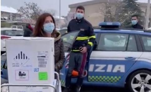 Vaccini anti-Covid arrivati a Crema