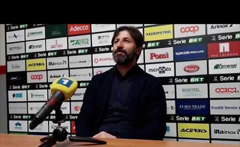VIDEO Cremonese - Trapani 5-0: l'intervista a mister Rastelli
