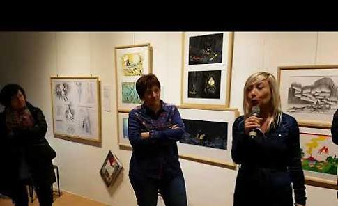 VIDEO  La mostra 'Le immagini della fantasia' a Palazzo Diotti