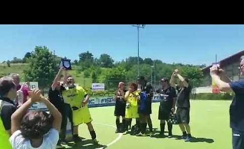 VIDEO Calcio a 5 non vedenti,  la premiazione del Crema