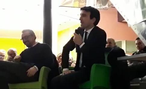 VIDEO Il ministro Maurizio Martina a Crema
