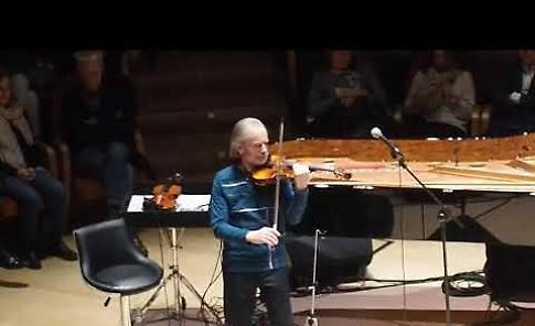 VIDEO Jean-Luc Ponty in concerto all'Auditorium Arvedi