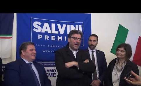 VIDEO Intervista a Giancarlo Giorgetti, sottosegretario alla Presidenza del Consiglio