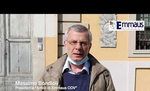 VIDEO Amici di Emmaus, l'appello del presidente Bondioli
