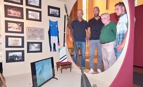 Visita alla mostra in S. Francesco: Farina e Raineri, quegli ori olimpici della Bassa