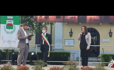 VIDEO La cerimonia di intitolazione della piazza agli eroi e alle vittime del Covid