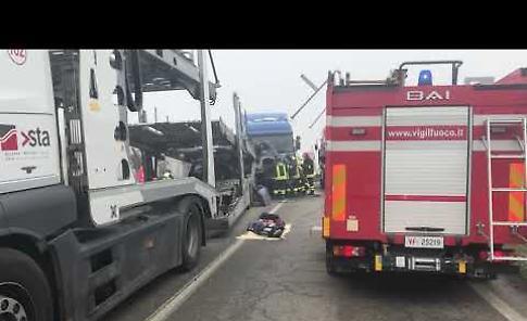 VIDEO Le immagini dell'incidente di Canneto sull'Oglio