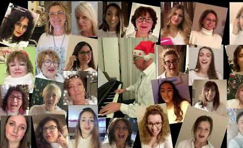 VIDEO Il Bianco Natale delle Pink Voices
