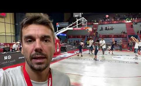 VIDEO Supercoppa, tutto pronto a Brindisi per Vanoli-Sassari