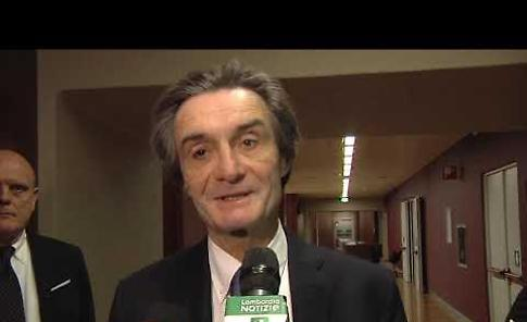 VIDEO Lombardia, un anno da presidente: intervista a Attilio Fontana