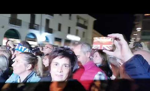 VIDEO Matteo Salvini alla Festa della Lega
