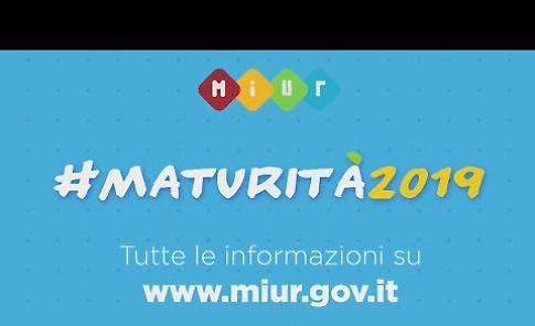 Maturità 2019, il video del ministro