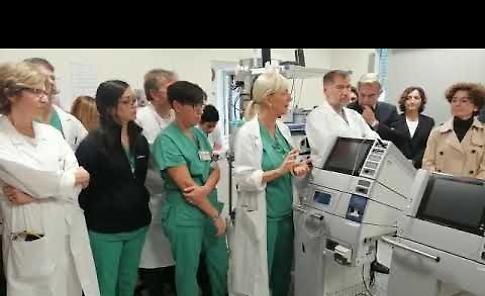 VIDEO1 Ospedale Maggiore, la donazione di due elettrobisturi