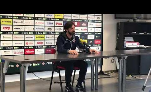 VIDEO Cremonese, conferenza stampa di mister Rastelli