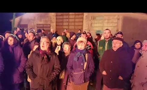 VIDEO Il falò di Sant'Antonio