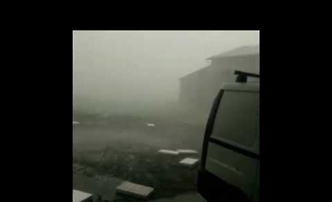 VIDEO Maltempo sul Casalasco: grandine e acquazzoni