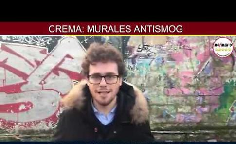 VIDEO Murales mangia smog