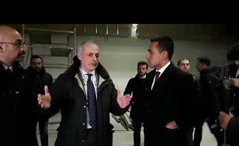 VIDEO Luigi Di Maio visita la Ancorotti Cosmetics