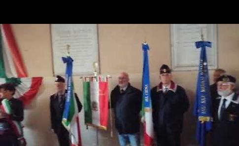 VIDEO XXV Aprile, l'intervento del sindaco Bonaldi