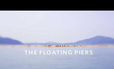 VIDEO Omaggio a Christo: The Floating Piers in time-lapse