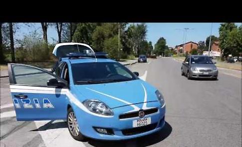 I controlli della polizia all'Ospedale di Cremona