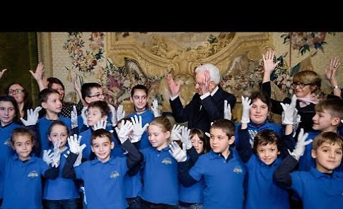 VIDEO L'orchesta Magica Musica al Quirinale suona per il presidente Mattarella