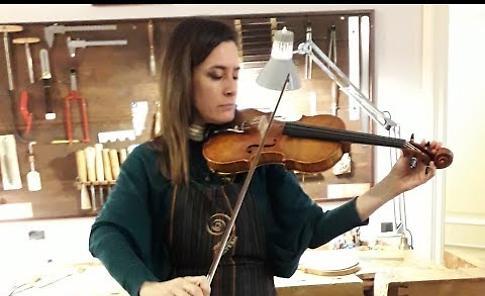 «Un violino per amicizia di Mario»