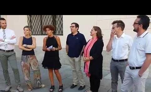 VIDEO La presentazione della nuova giunta del Comune di Crema