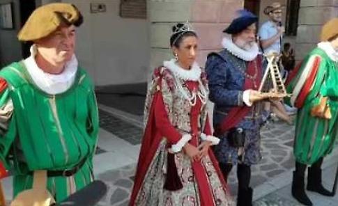 La sfilata storica in costume