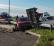 Scontro tra auto all'incrocio, quattro persone ferite