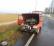 Auto in fiamme: grande spavento, traffico deviato