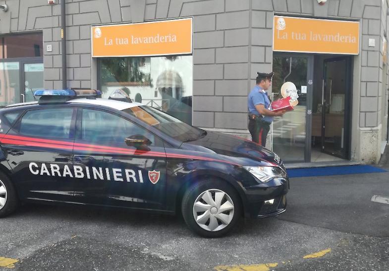 Lavanderia Bagnoli : Tenta il furto in lavanderia arrestato enne di pieranica la
