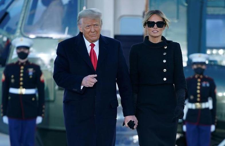 Melania Trump lascia la Casa Bianca e cambia la sua vita